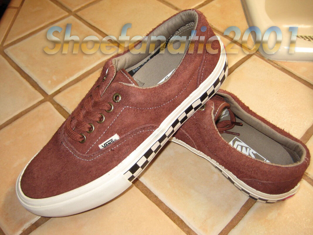 Vans Era Pro Sample Checkerboard Supreme Foxing Brown Checkers 9 Syndicate Ultra