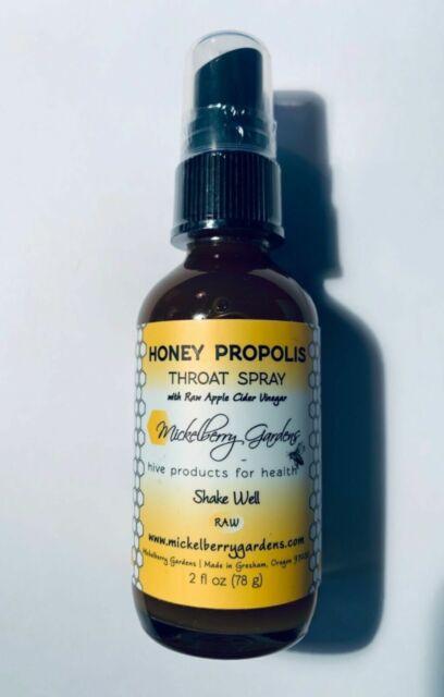 Mickelberry Gardens Honey Propolis Throat DPRAY 2 Oz