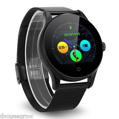 Bluetooth Smart Watch Montre étanche Siri Pédomètre SMS connectée iphone android