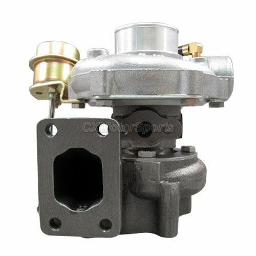 T28 Turbo Charger .42 .86 A//R Fast Spool 14psi Wastegate For CA18 KA24