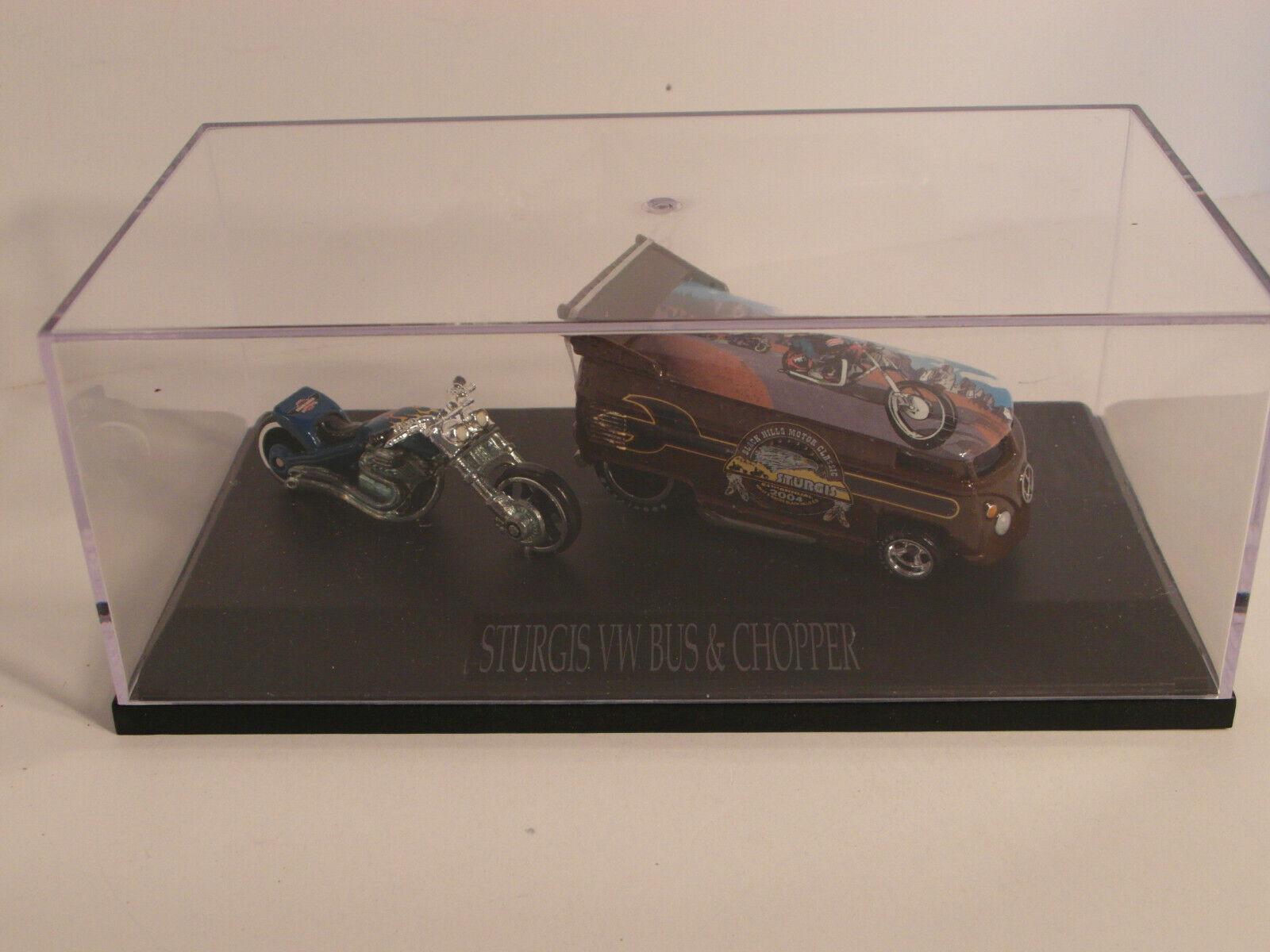 2004 HW LIBERTY Promotion STURGIS VW DRAG BUS  Set hommeS Edition  1139 1300  grande remise
