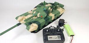 Royaume-uni Vente Heng Long Radio Télécommande Rc Type 99 Ztz Tank Camo 1/16th 2.4ghz-afficher Le Titre D'origine
