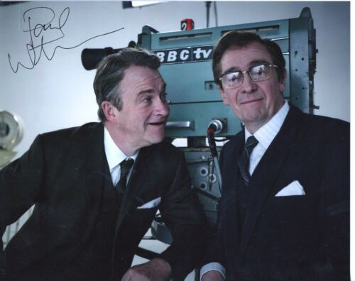 PAUL WHITEHOUSE HARRY and PAUL personally signed 10x8