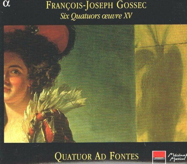Gossec: 6 Quartette Op. 15/Quatuor Ad Fontes - CD Neu