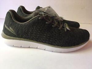 127d0c105 Men s C9 Champion Speedknit Focus 4 Athletic Shoes Olive Sz 9