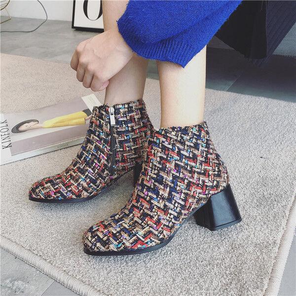 stivali stivaletti bassi caviglia 7 cm nero colorati  eleganti simil pelle 9525