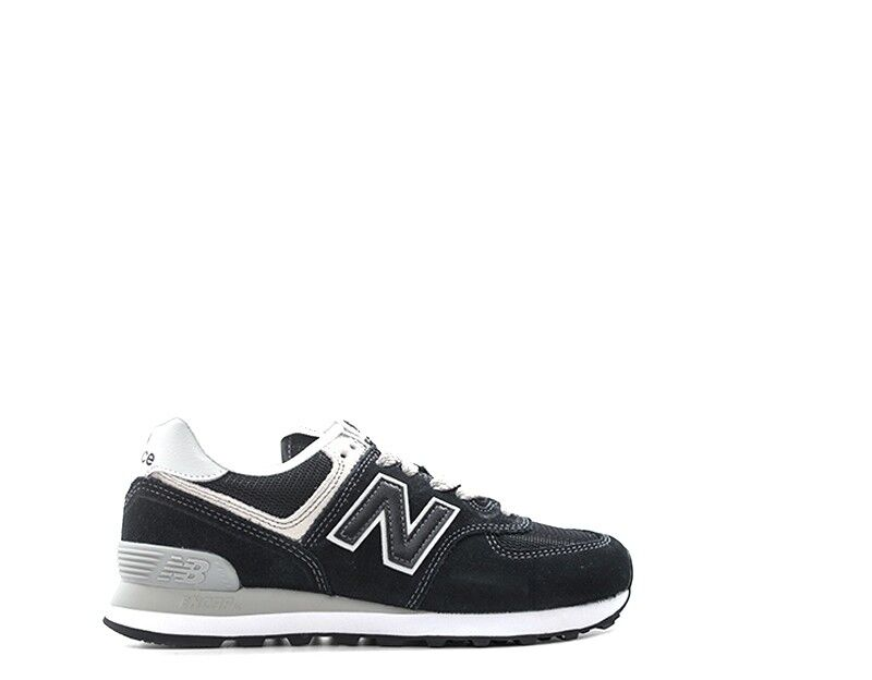 shoes NEW BALANCE women Sneakers  black black black Scamosciato,Tessuto WL574EB 3f0be2