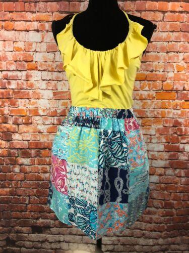 Lilly Pulitzer Quinn Ruffled Halter Dress Empire W