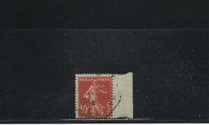 Belle Perforé France N° 138 - Sl 123