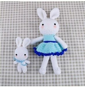 Giant Mabel Bunny Crochet Kit by Wool Couture | 300x293