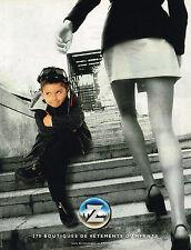 PUBLICITE ADVERTISING 045  2000  Z  mode vetements enfant garçon