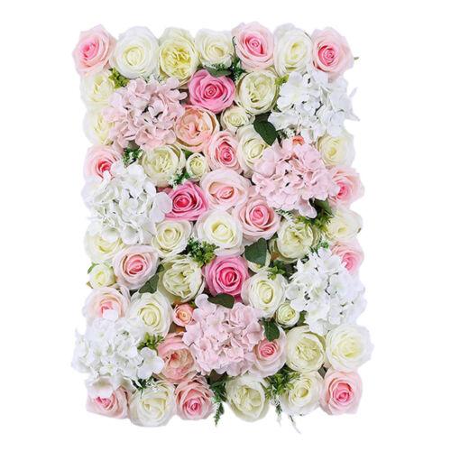 6pcs künstliche Laub Silk Blume Walls Hochzeit Kulisse Dekorationen