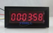 Red LED Digital Timer Totalizer Hour Chronometer industrial 12V DC Meter Panel