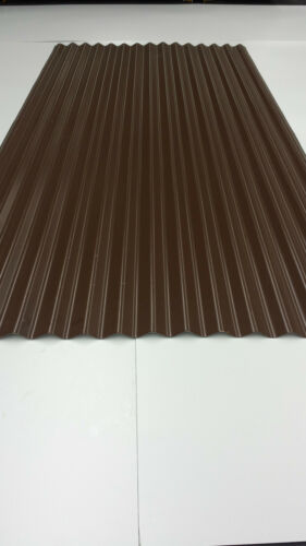 Vandyke Brown corrugated roofing sheets tin cladding *MANUFACTURED IN UK*