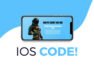 fortnite ios friend invite code