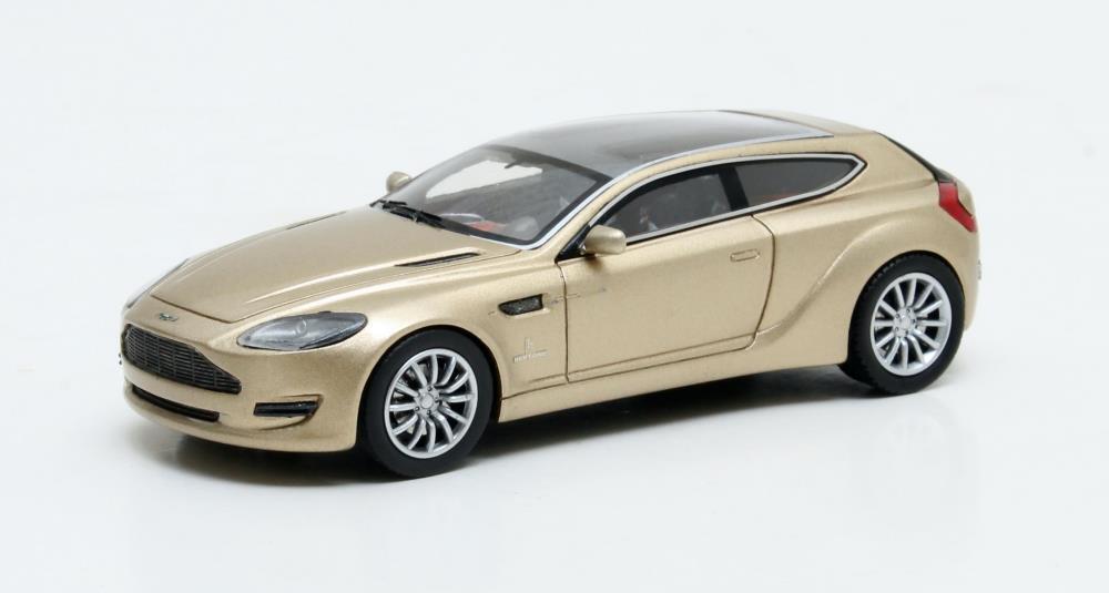 MATRIX SCALE MODELS -ASTON MARTIN BERTONE JET 2 CONCEPT 2013 gold MET 1 43 SCALE