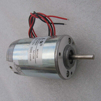 R4468 DC12V 24V 2400-5000RPM Long Shaft High Speed Motor Carbon Brush Motor
