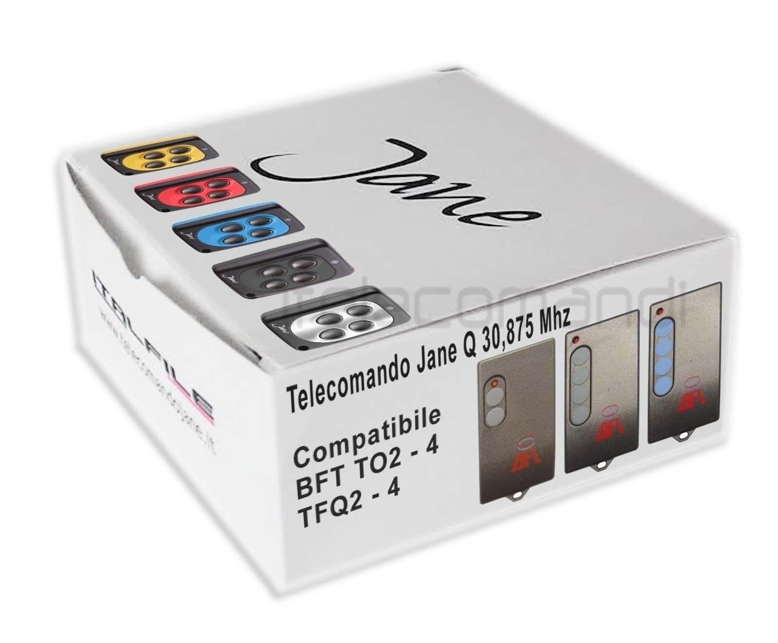Télécommande - radio Jane compatible BFT TO2 - Télécommande TO4 - T04 - T02 30,875 Mhz ca131e
