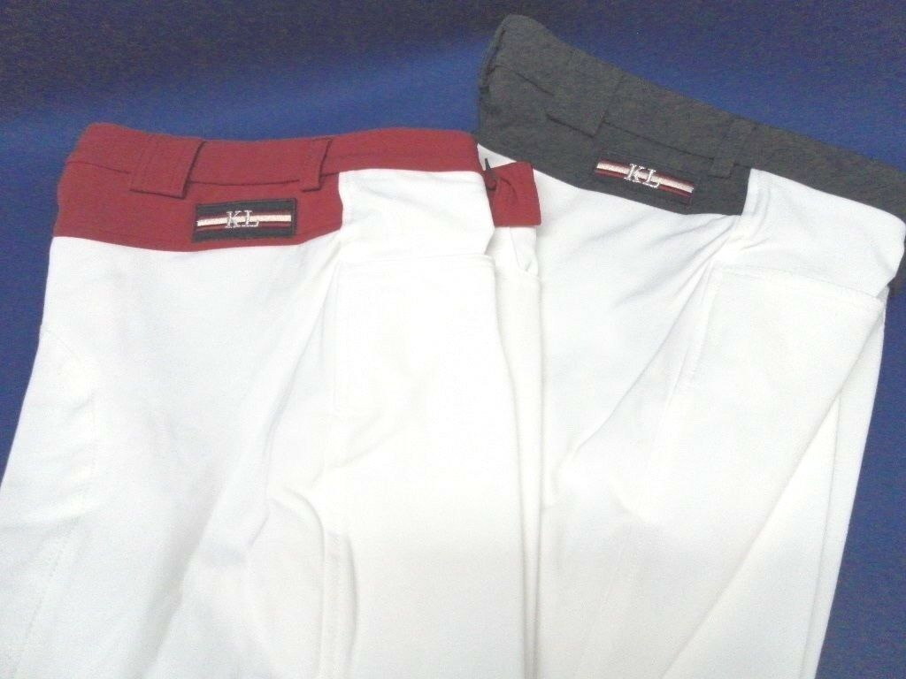 Ladies Breeches Kingsland Equestrian Jessica Non Pleated bianca wrosso or Navy