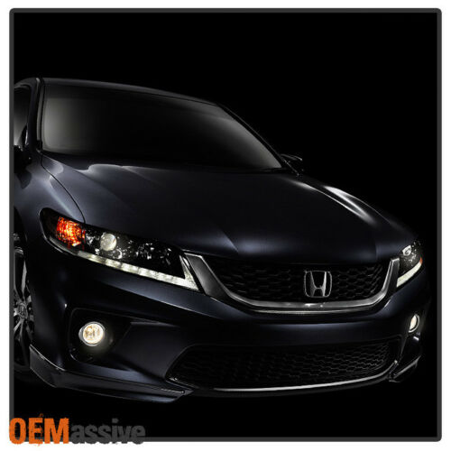 Fit 2013-2015 Accord 2Dr Coupe Bumper Fog Lights Lamps W//Switch+Bulbs Left+right