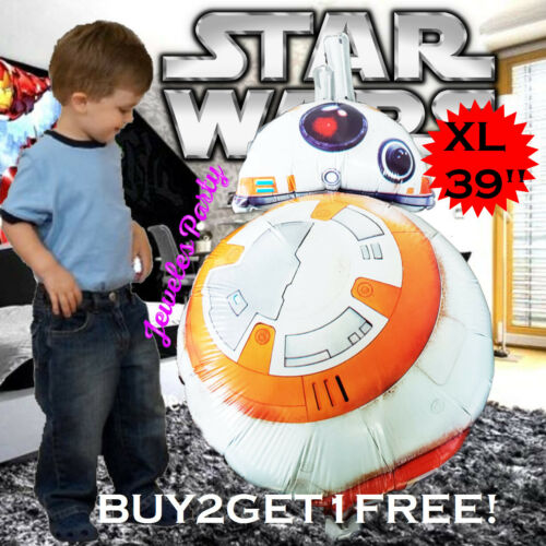 XL Star Wars BB8 Fête D/'Anniversaire Ballon Ballons Fournitures Décoration R2D2 DARK