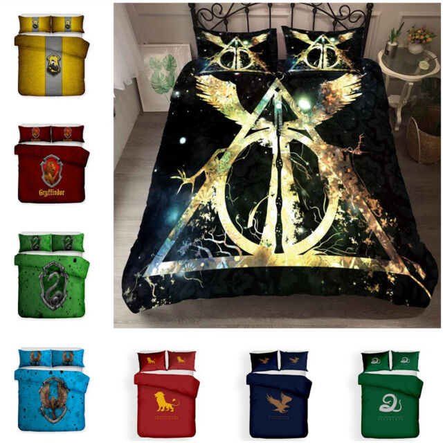 Harry Potter Bright School Full/Queen Comforter Set Magic Fantasy