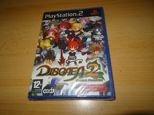 PS2-Disgaea-2-maudit-Memories-GB-PAL-neuf-amp-Sony-scelle