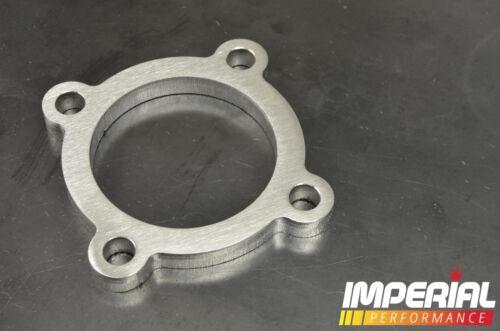 "12 mm Acero Inoxidable T3 2.5/"" 4 Pernos Turbo Brida"