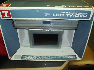 "TRUTECH SPACE SAVING KITCHEN 7"" LCD TV & DVD PLAYER NEW ..."