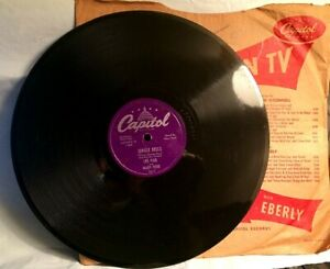 LES-PAUL-amp-MARY-FORD-78-RPM-Jungle-Bells-White-Christmas-CAPITOL-2617-1953