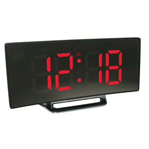 Mirror-LED-Alarm-Clock-Night-Lights-Thermometer-Snooze-Table-Wall-Clock-LED-Lamp
