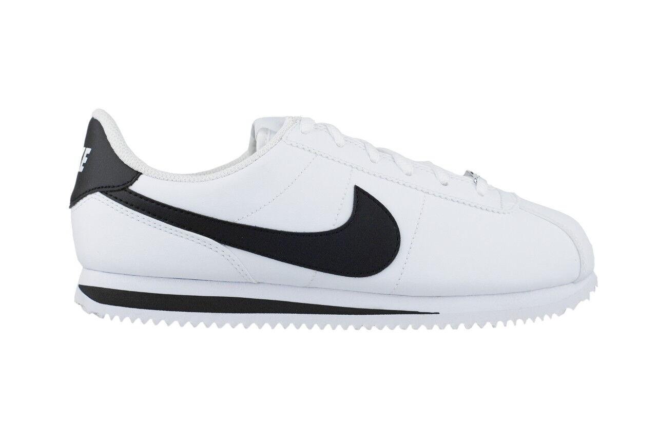 Nike Cortez 904764 Basic SL 904764 Cortez 102 Damenschuhe Kinder Sneaker Weiß/Schwarz 6384bb