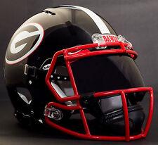 *CUSTOM* GEORGIA BULLDOGS NCAA Riddell Speed AUTHENTIC Football Helmet