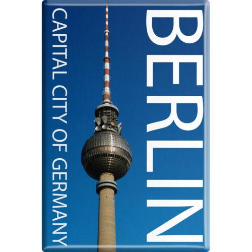 Kühlschrank-Magnet NEU Magnet-Schild Magnete • CAPITAL CITY BERLIN • 38710 •