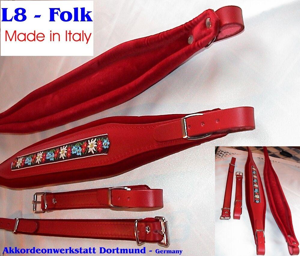 8 cm Akkordeongurte, Riemen,Bretelles Accordeon, acordeon, Folk Accordion Straps