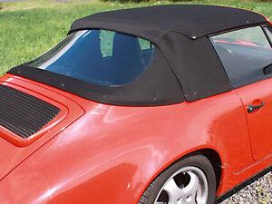 Image Is Loading Porsche 911 Convertible Top Hood Black German Twillfast