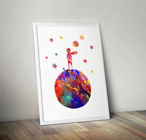 party poster The little prince wallart gift quote print prints posters