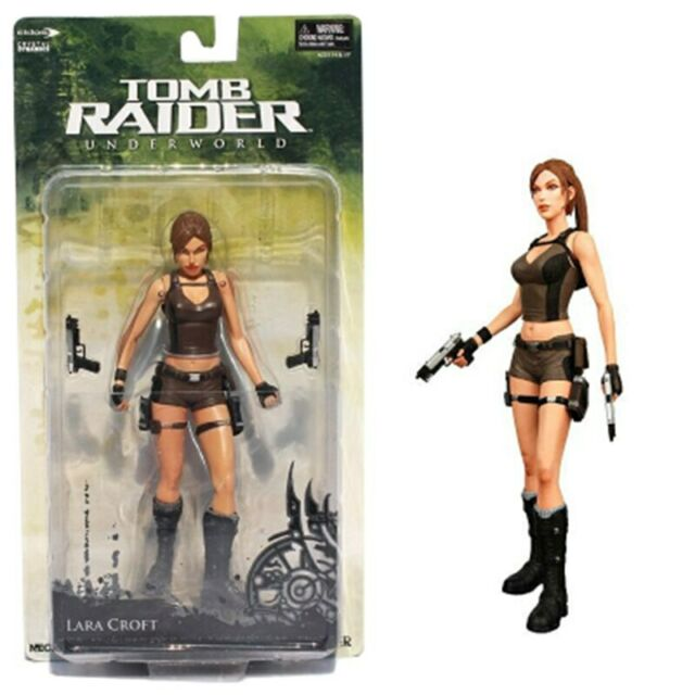 NECA Tomb Raider Underworld Lara Croft 7 inch Action Figure Collection New