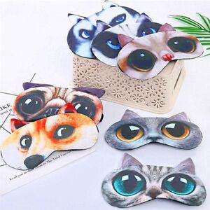 3D-Cute-Cartoon-Animal-Eye-Masks-Shade-Cover-Blindfold-Rest-Sleep-Eyepatch
