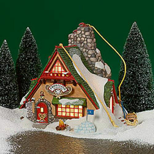 DEPARTMENT 56 NORTH POLE ~  FROSTY PINES OUTFITTERS    #56752