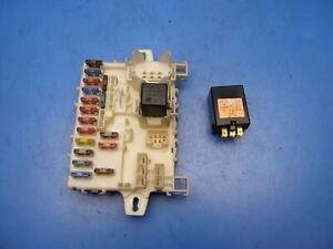 86-89 Acura Integra OEM In-dash fuse box with fuses & wiper control relay  STOCK   eBay   Acura Integra Fuse Box      eBay
