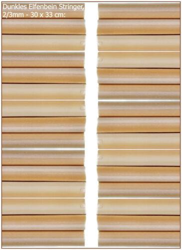 Dunkles Elfenbain Pastell 0,60€//m Effetre P276 2//3mm per 10 MeterStringer