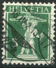 SWITZERLAND - SVIZZERA - 1909 - Walter Tell: nuovo tipo - 5 cent.