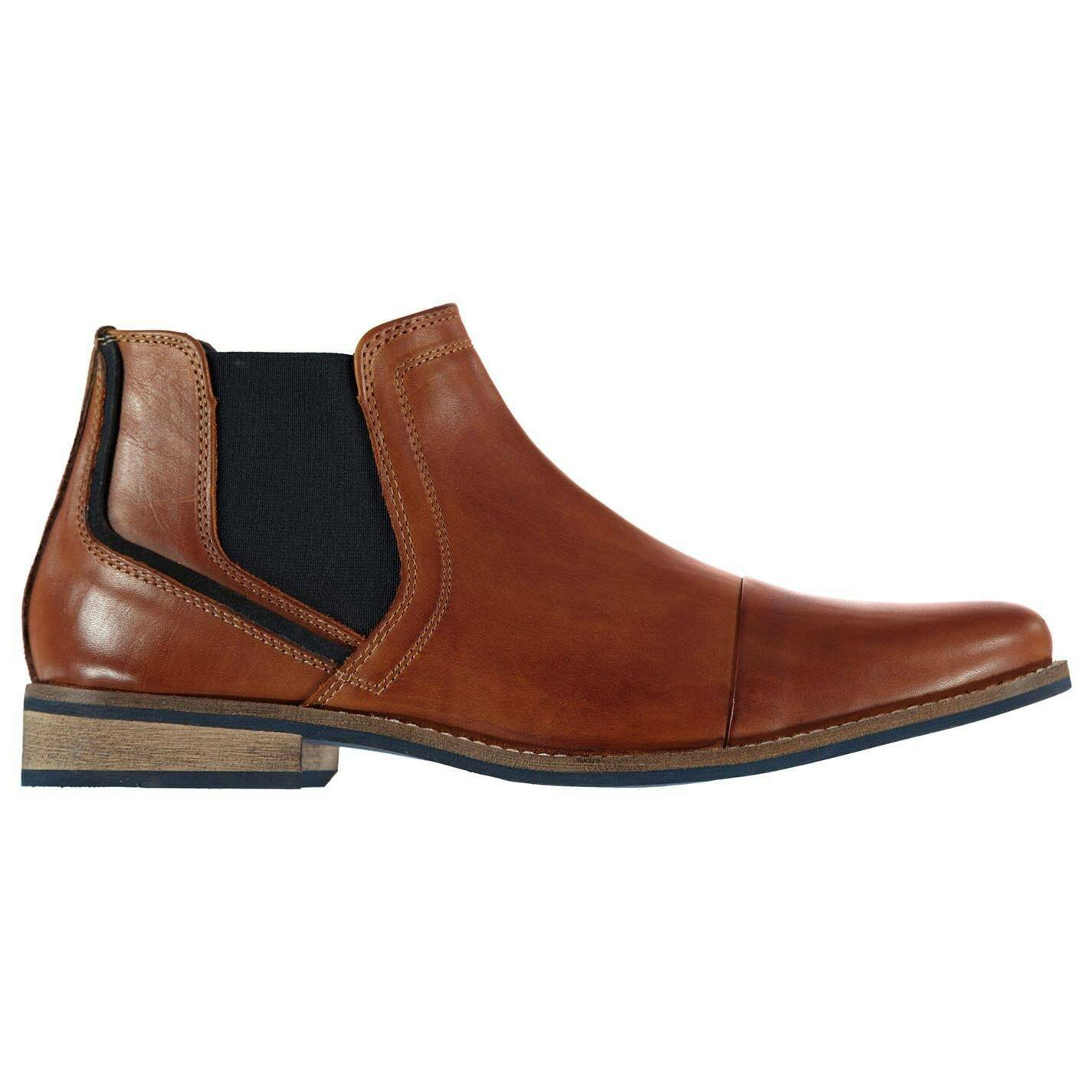 Mens Dune CHIVE 1 Chelsea Boots New