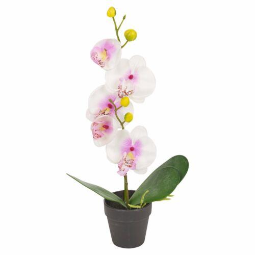 Künstliche Blumen Realistisch Bukett Schmetterling Orchidee Pflanze Bonsai