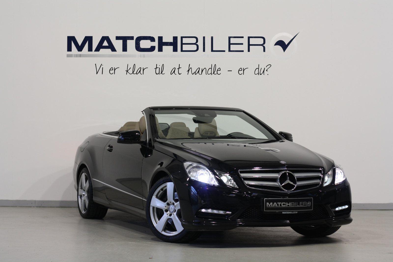 Mercedes E200 2,0 Cabriolet aut. 2d - 499.800 kr.
