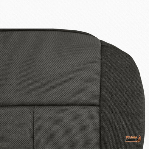 2009 2010 Ford F150 Driver Bottom Cloth Seat Replacement Cover Medium Stone Gray