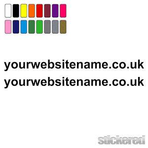 2-x-WEBSITE-ADDRESS-NAMES-FOR-CAR-VAN-WINDOW-SHOP-VINYL-STICKERS-DECALS