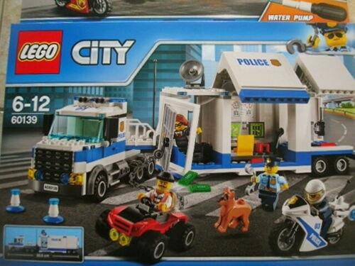 Lego City 60139 Mobile Einsatzzentrale Polizei+60214 Feuerwehreinsatz,NEU OVP