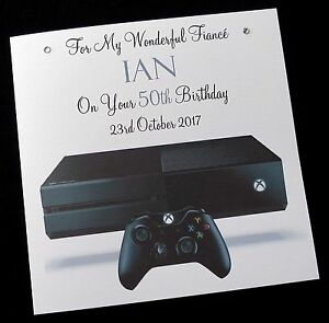 Image Is Loading Personalised 039 Xbox Gaming Birthday Card Brother